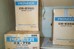 Vintage Pioneer Stereo System