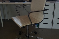 Eames-Style-Ribbed-Chair